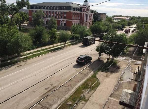在特别行动期间,5武装分子在哈萨克斯坦阿克托比的不同地区被摧毁
