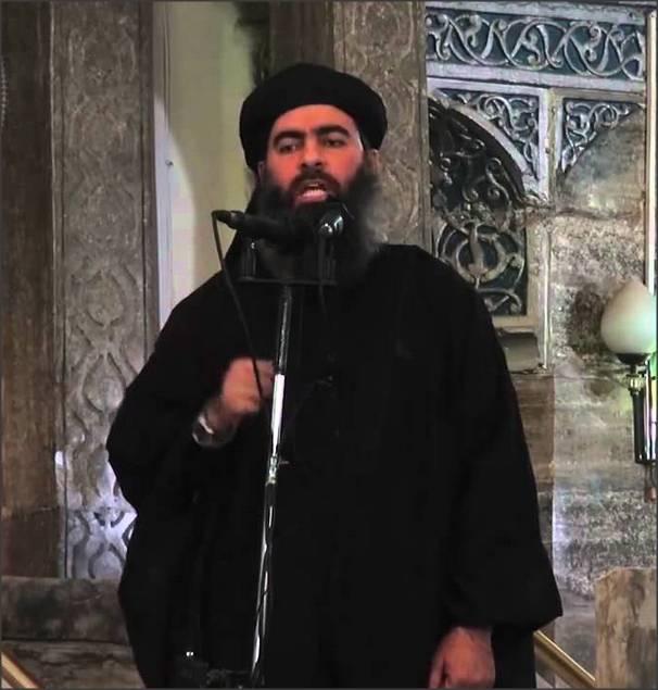 メディア:イラク北部で、ISISの指導者がアブ・バクル・アル=バグダディを負傷