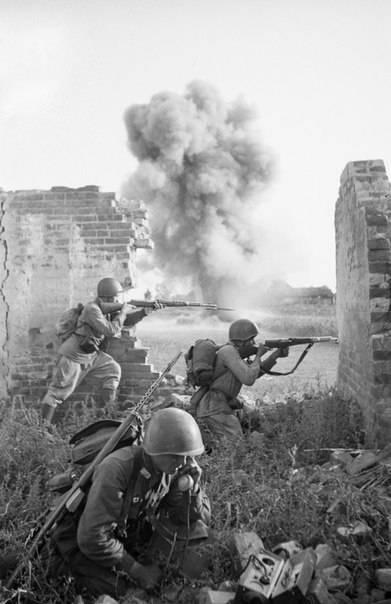 Heißer Sommer 1941-42. Teil von 2