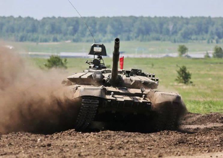 Tankmen ganhou o bastão de tanque nas competições All-Exército