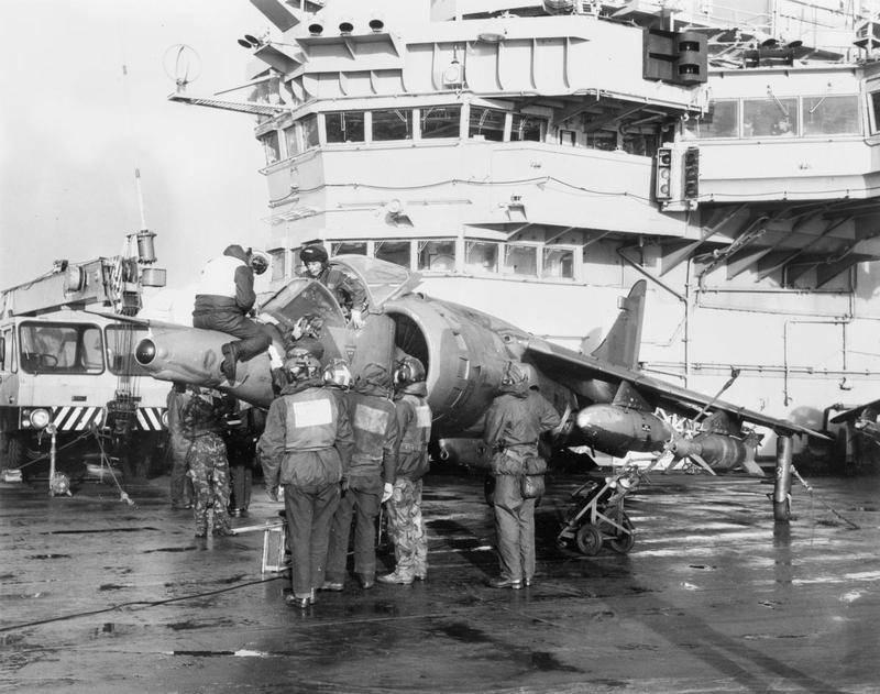 Harriers au combat: conflit des Malouines 1982 g (partie de 8)