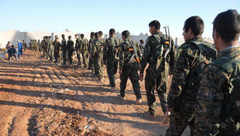 库尔德军队将恐怖分子驱逐出叙利亚北部的7村庄