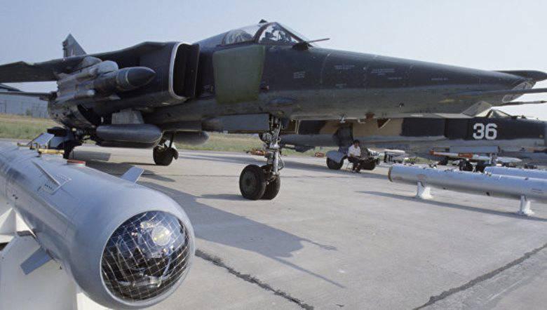 MiG-27 s'est écrasé en Inde, les pilotes sont éjectés