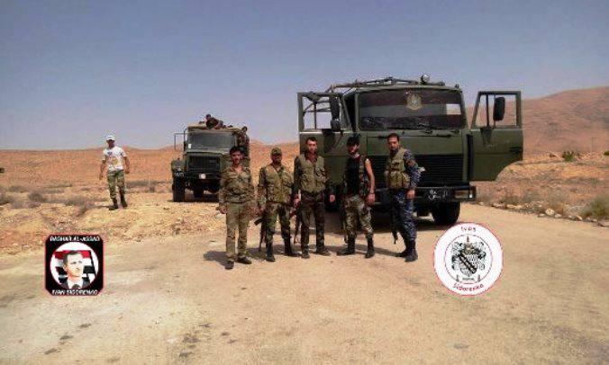 叙利亚特种部队获得了新的MAZ