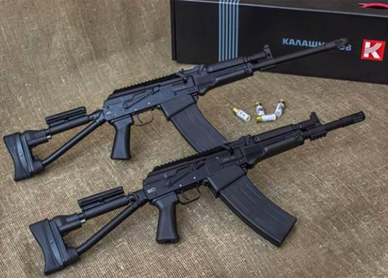 """""""卡拉什尼科夫冲锋枪""""为民用市场带来了4新型小型武器"""
