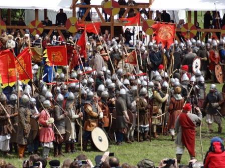 """""""Batalla de espadas 1000"""" en Kolomenskoye"""