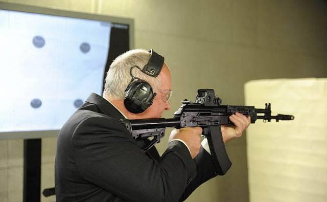 """Kalashnikov"" prepared for the special forces AK-400"