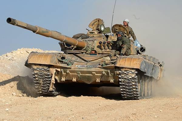 Старые танки новой войны