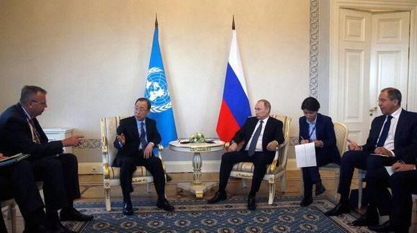 Украина направила в штаб-квартиру ООН гневное письмо в связи с выступлением Пан Ги Муна в Санкт-Петербурге