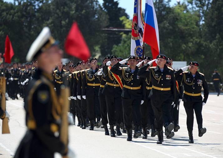 810-я бригада морпехов награждена орденом Жукова