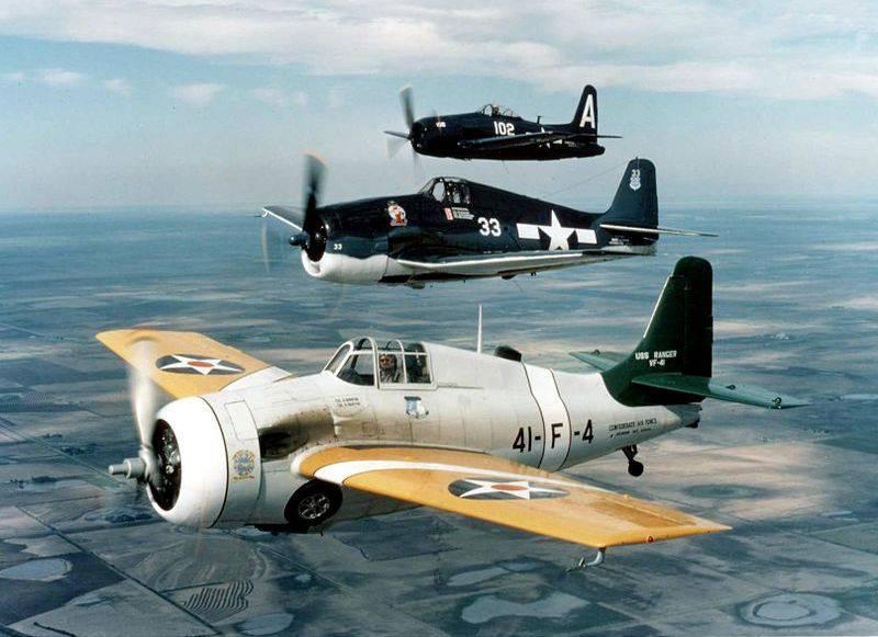第二次世界大戦中のデッキ航空機新しい航空機 パートII(a)