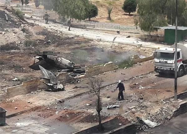 В Сирии разбился истребитель МиГ-21 ВВС САР. Лётчик погиб