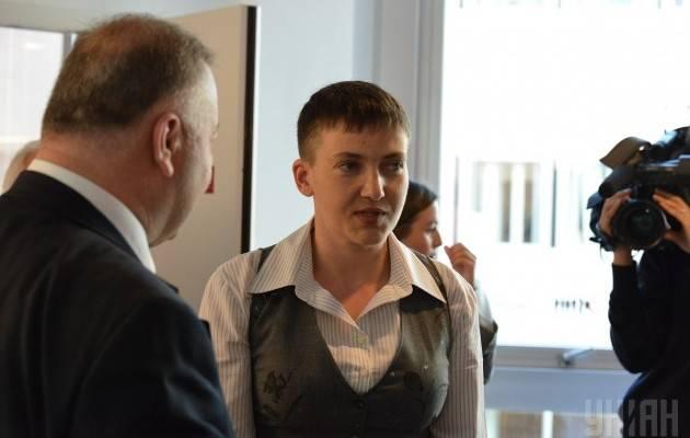 Савченко в составе украинской делегации начала работу в ПАСЕ