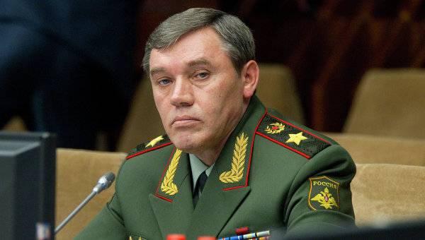 """Валерий Герасимов: """"Терпение по отношению к ситуации в Сирии заканчивается у нас, а не у американцев"""""""