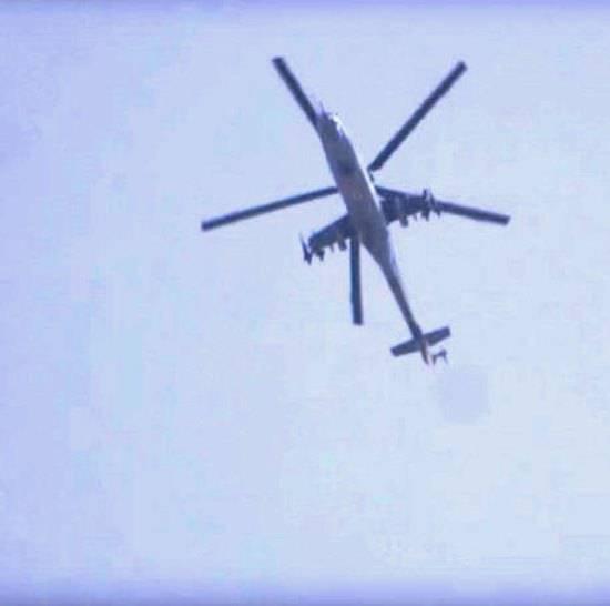 Ми-25 в Сирии