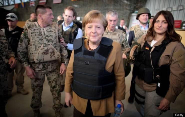 Меркель: нужно увеличить военные расходы Германии из-за внешних угроз