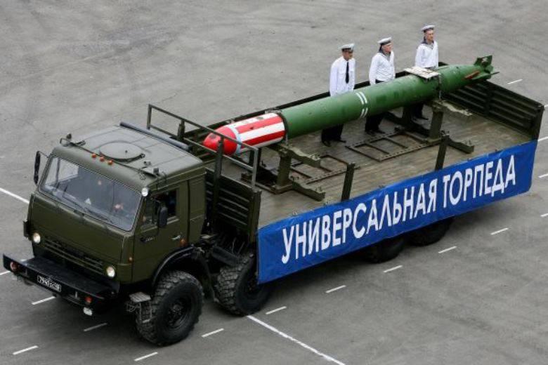 СМИ: ВМФ вооружится торпедой «Футляр»