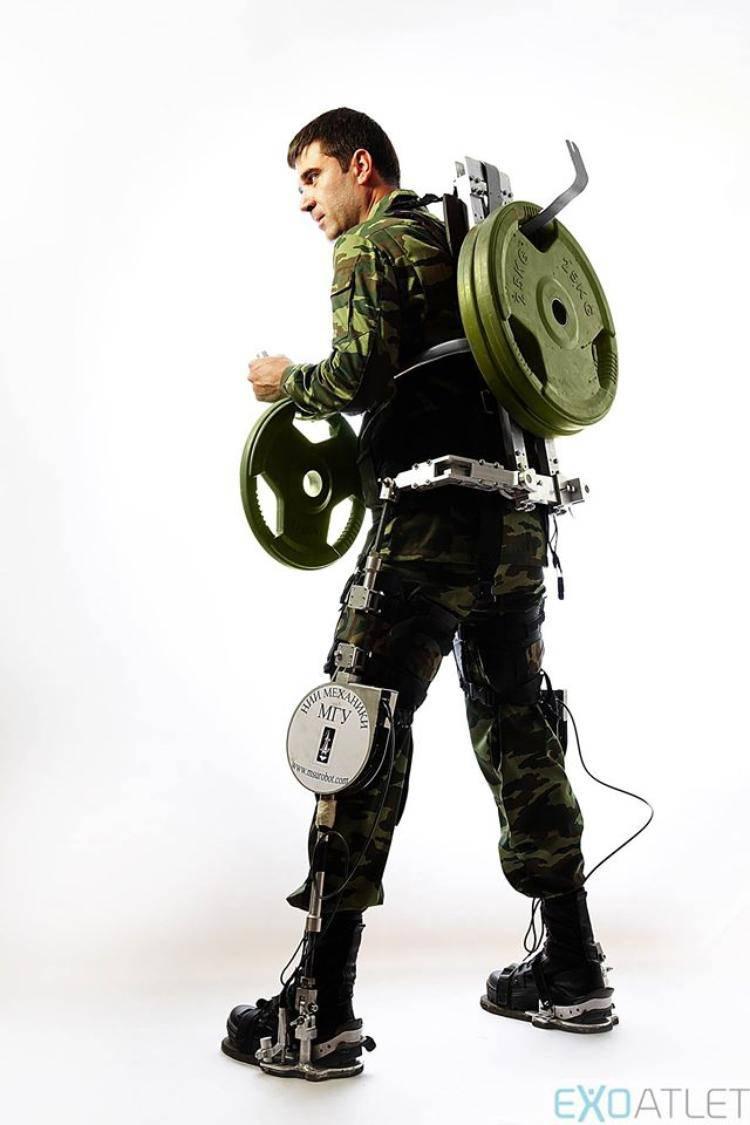 ЮЗГУ разрабатывает экзоскелет для армии