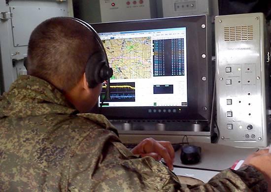 На полигоне ЮВО подразделения РЭБ искажали навигационное поле условного противника и осуществляли радиоэлектронное подавление
