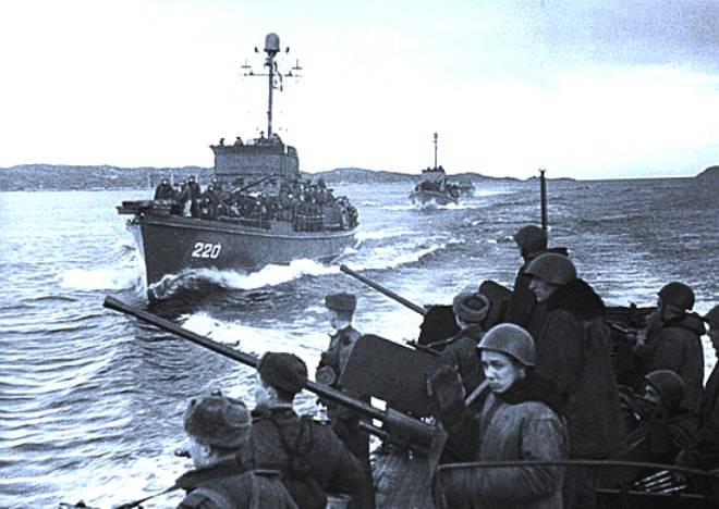 Действия сил Северного флота в Петсамо-Киркенесской операции
