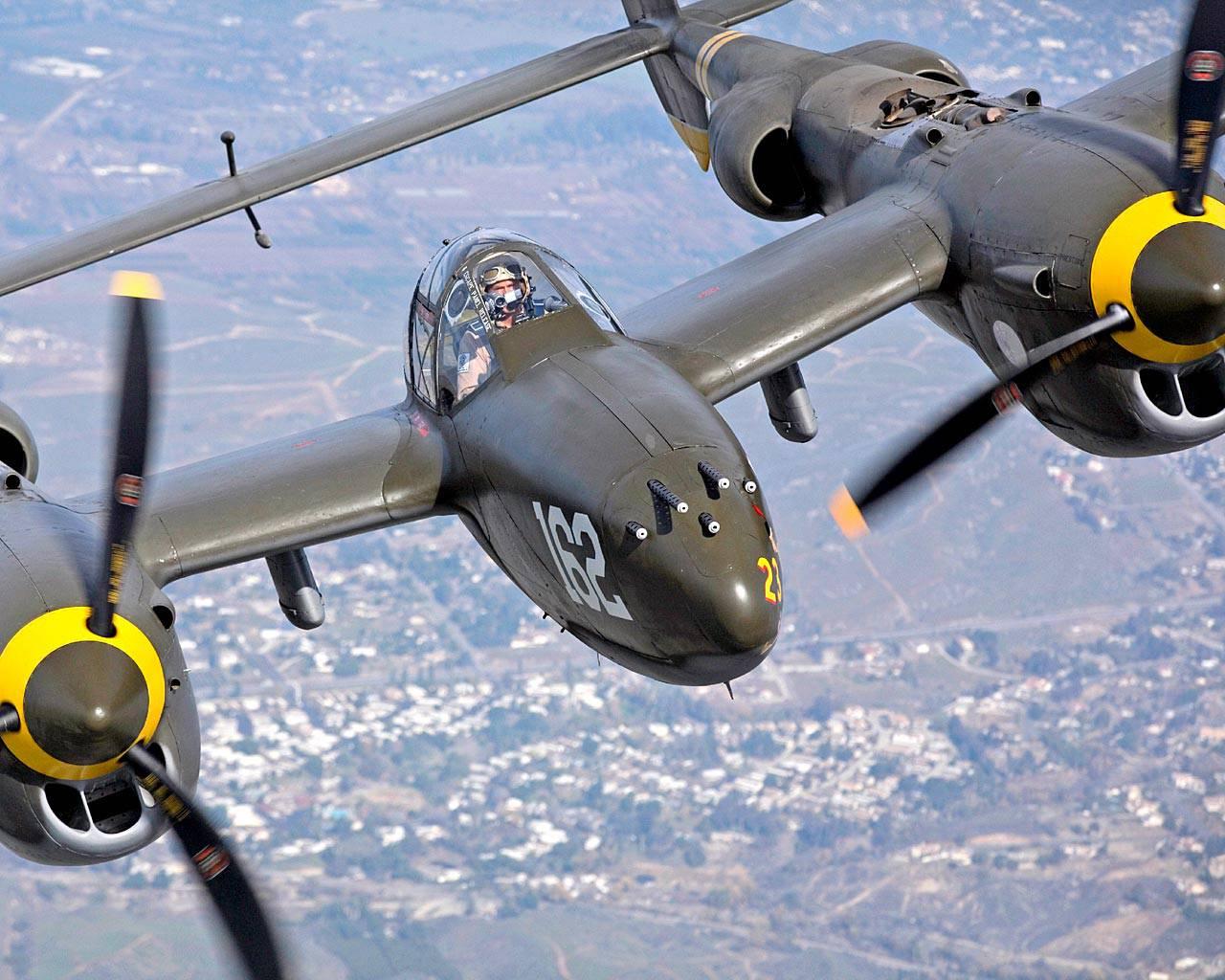 Обои локхид p-38, самолеты, американские. Авиация foto 15