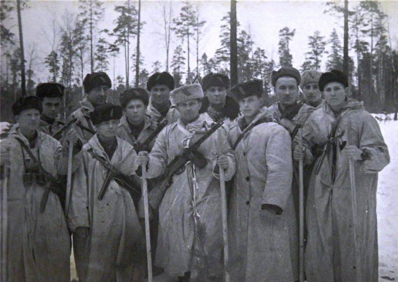Совместные с партизанами действия Сводного отряда во вражеском тылу