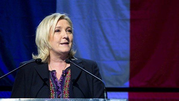 Марин Ле Пен призвала провести референдум по членству Франции в Евросоюзе