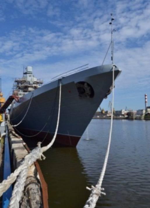 На «Адмирале Касатонове» установлен главный ударный комплекс
