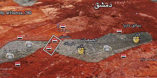Об успехах сирийской правительственной армии в провинциях Дараа и Дейр-эз-Зор