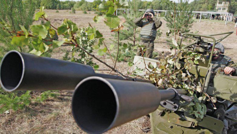 ВСУ обстреливают позиции ополченцев Луганской республики