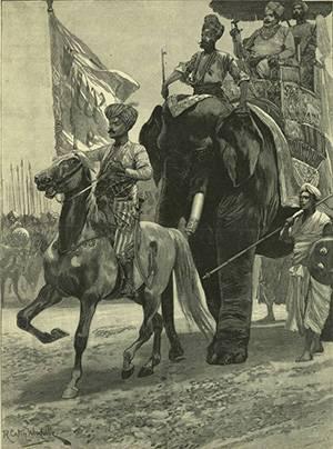 Англо-французское соперничество в Индии. Битва при Плесси