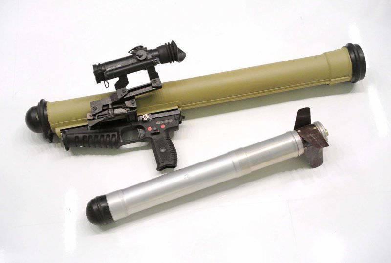 세계에서 가장 작은 수류탄 발사기는 러시아 연방의 반테러 부대의 무기고에 들어갔다.