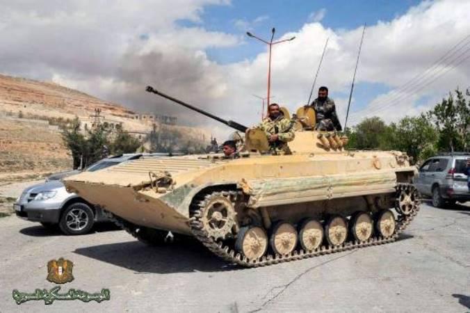 Эксперты: сирийские БМП-2 – наиболее подходящая техника для борьбы с автомобилями смертников