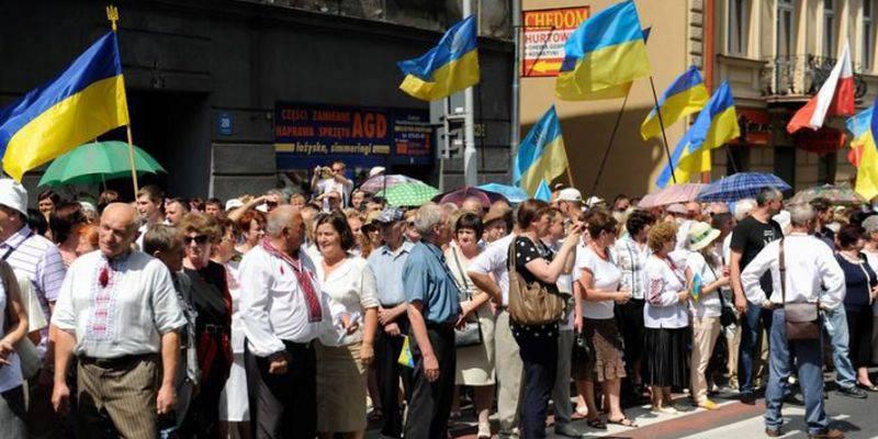 """В Польше избили украинцев, организовавших шествие """"в память о сечевых стрельцах"""""""