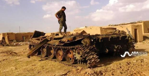 Турецкая артиллерия обстреляла курдские позиции на севере Сирии, после того как курды отразили наступление ИГИЛ