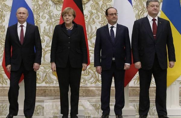 На Западе заговорили о возможности введения санкций в отношении Киева за невыполнение Минских соглашений
