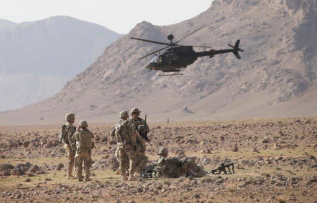 СМИ: Американская авиация уничтожила лагерь талибов в Афганистане вместе с заложниками