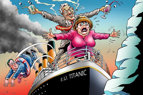 Почему Британия в спешном порядке покидает тонущий европейский «Титаник»?