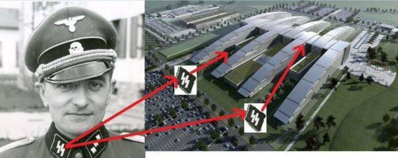 СМИ: дизайн новой штаб-квартиры напоминает нацистскую символику