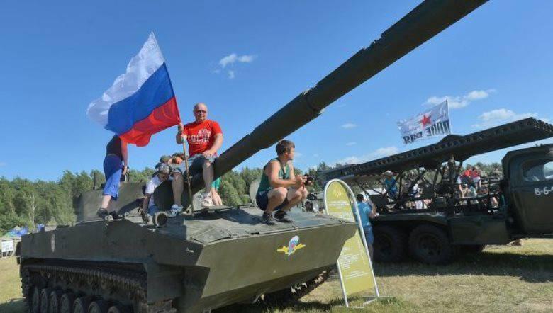 На фестивале «Нашествие» военные представят 25 образцов техники