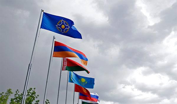 Начата подготовка к совместным учениям сил ОДКБ
