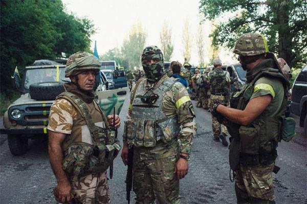 Отряды ДНР и ЛНР отбросили осуществивших прорыв украинских силовиков за линию соприкосновения