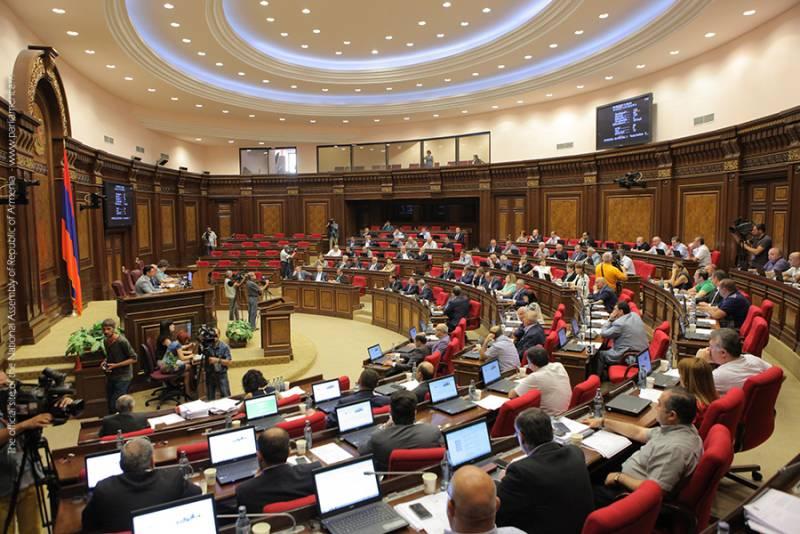 Парламент Армении произвёл ратификацию соглашения с РФ о единой системе ПВО
