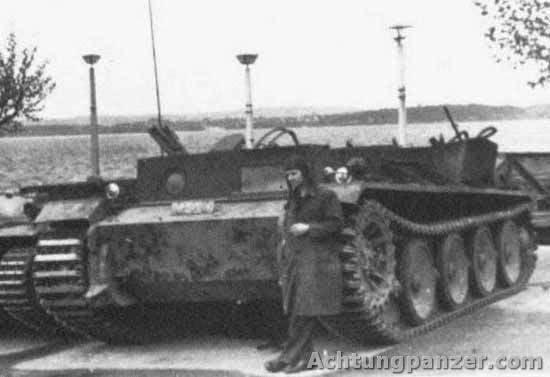 भारी टैंक हेन्शेल वीके एक्सएनयूएमएक्स (एच), जर्मनी
