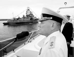Командование Балтфлота уволено за «упущения» и «искажения»