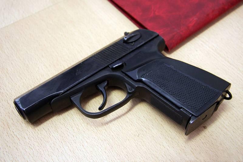Перспективный пистолет для армии и полиции