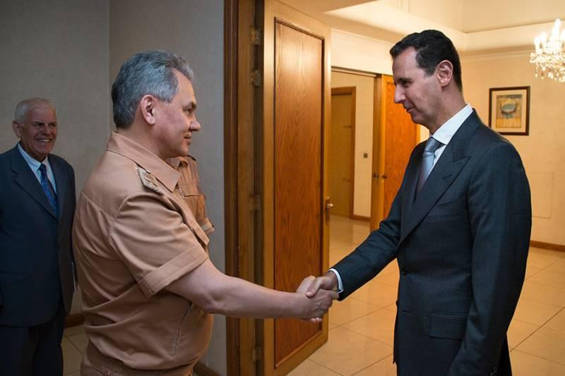 Шойгу провёл переговоры с Асадом и проинспектировал авиабазу «Хмеймим»