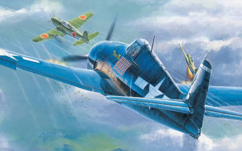 Палубная авиация во второй мировой войне: новые самолёты. Часть II(a)