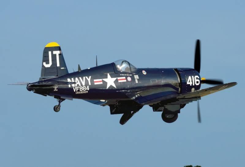 Палубная авиация во второй мировой войне: новые самолёты. Часть II(b)