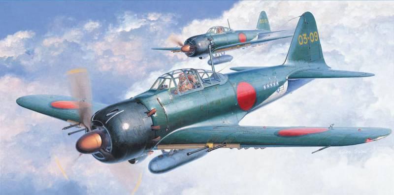 Палубная авиация во второй мировой войне: новые самолёты. Часть III